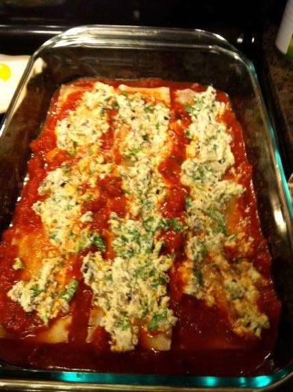 Vegan Lasagna With Herbed Macadamia Ricotta Sick Of